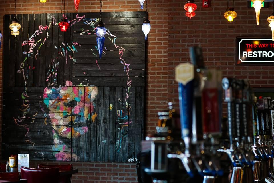 Keith Richards, 8 ft x 8 ft, Acrylic on Wood Board