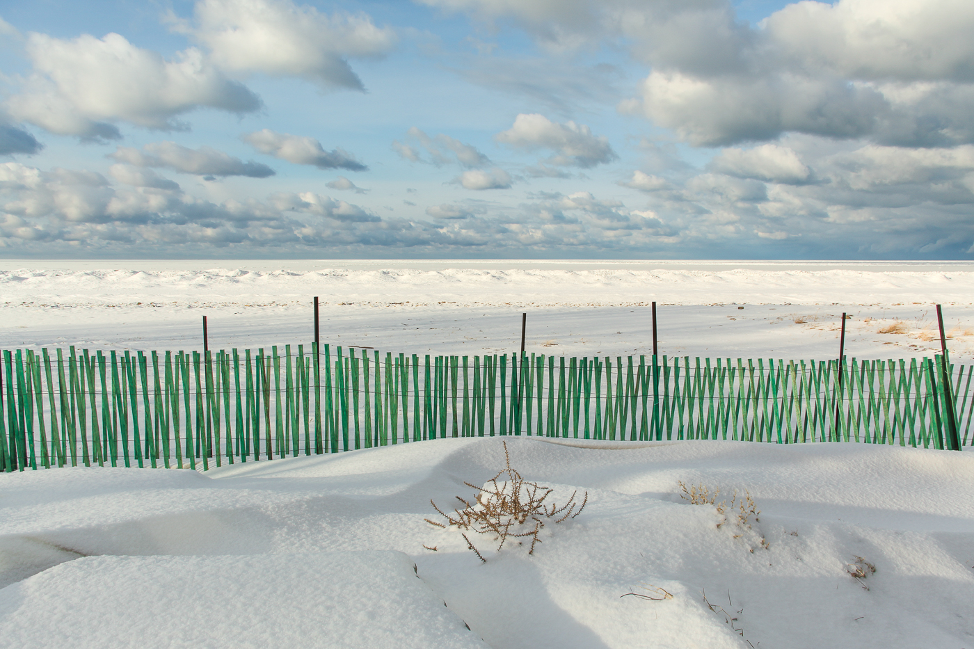 Lake Huron Winter