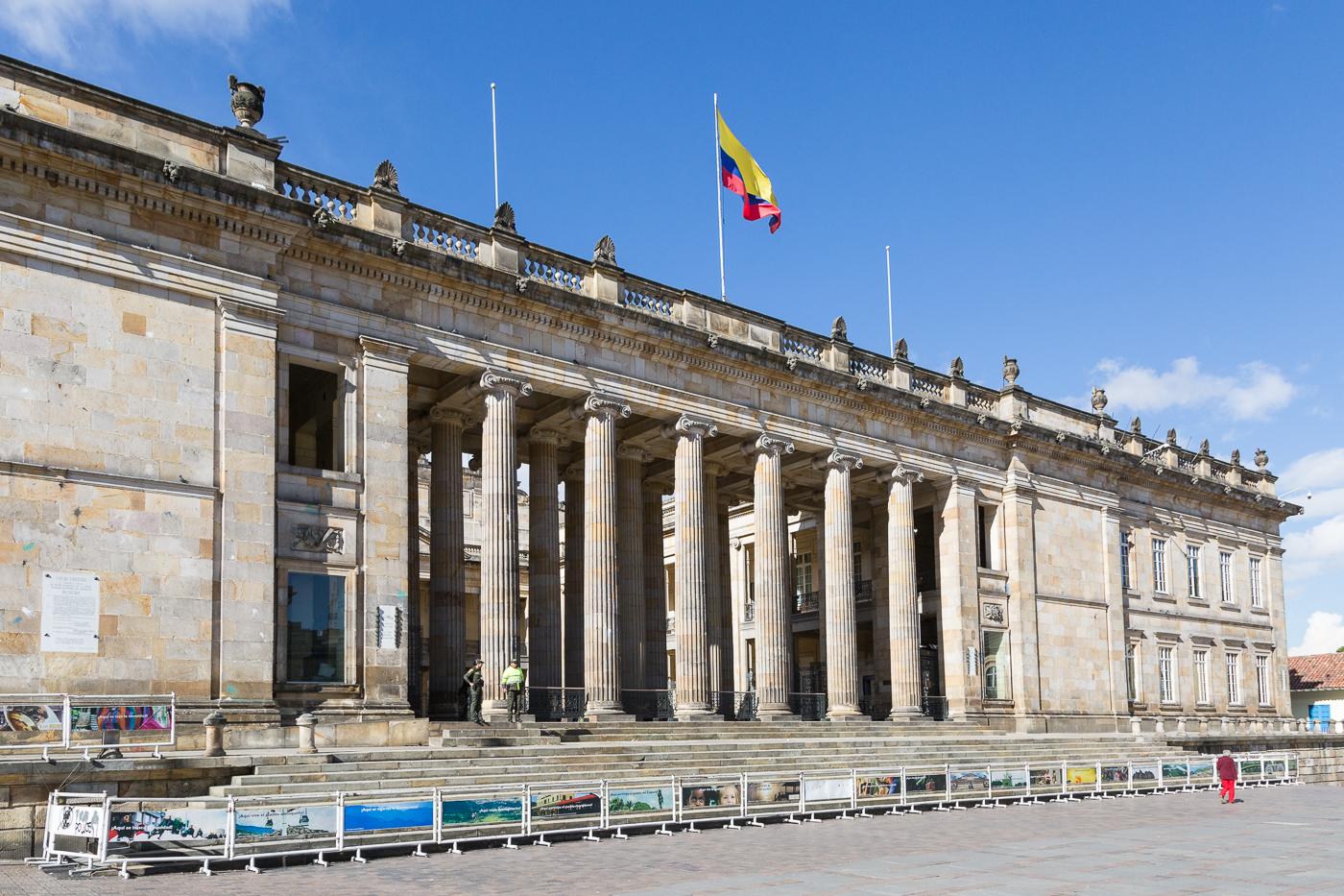 National Capitol in Bolivar Square, Bogota