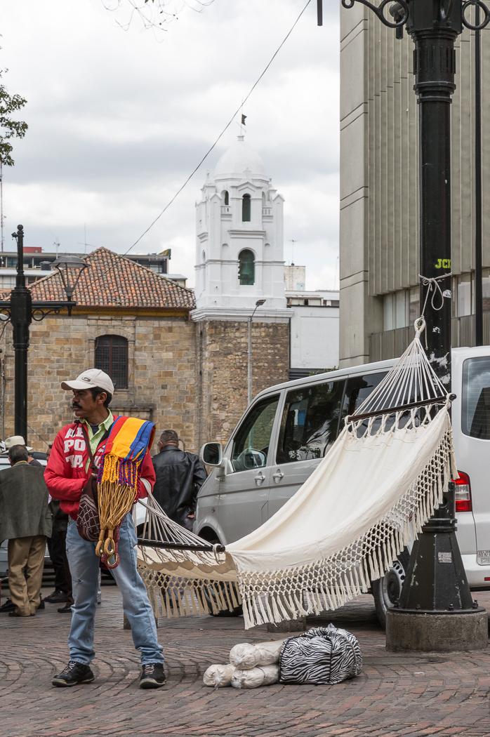 Market Vendor, Bogota