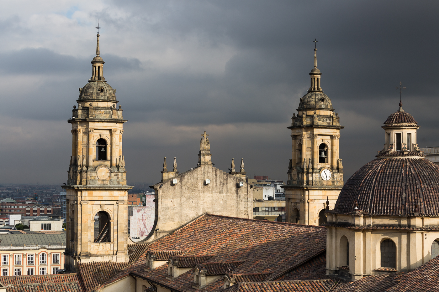 Bogota Cathedral Towers