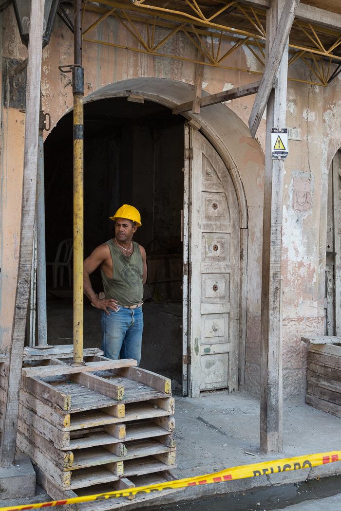 Construction Worker, Cartagena