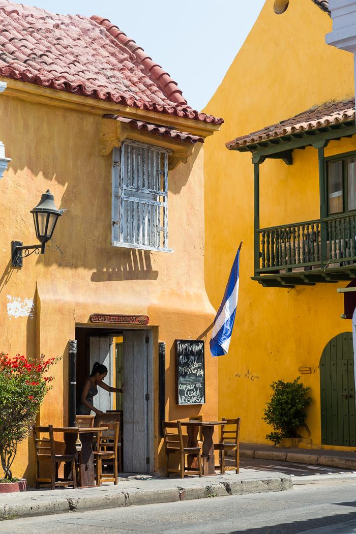 Restaurant in Old City Cartegena