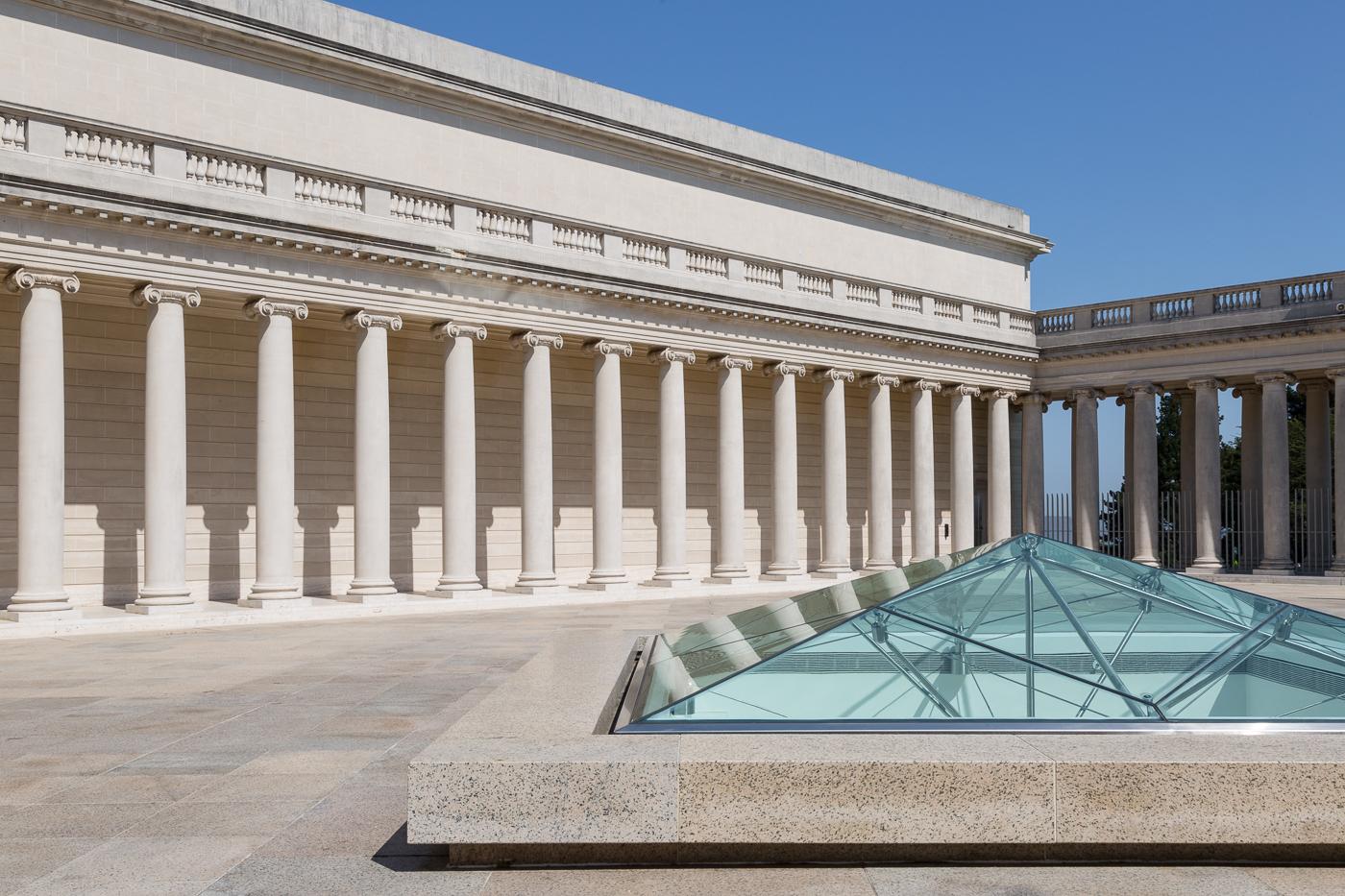 Courtyard, Legion of Honour Museum, San Francisco