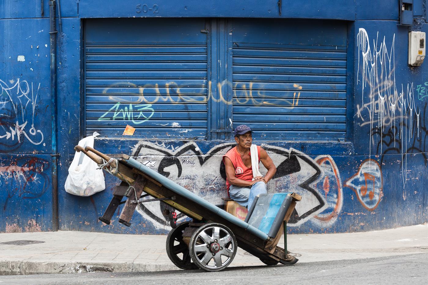 Street Scene in Medellin