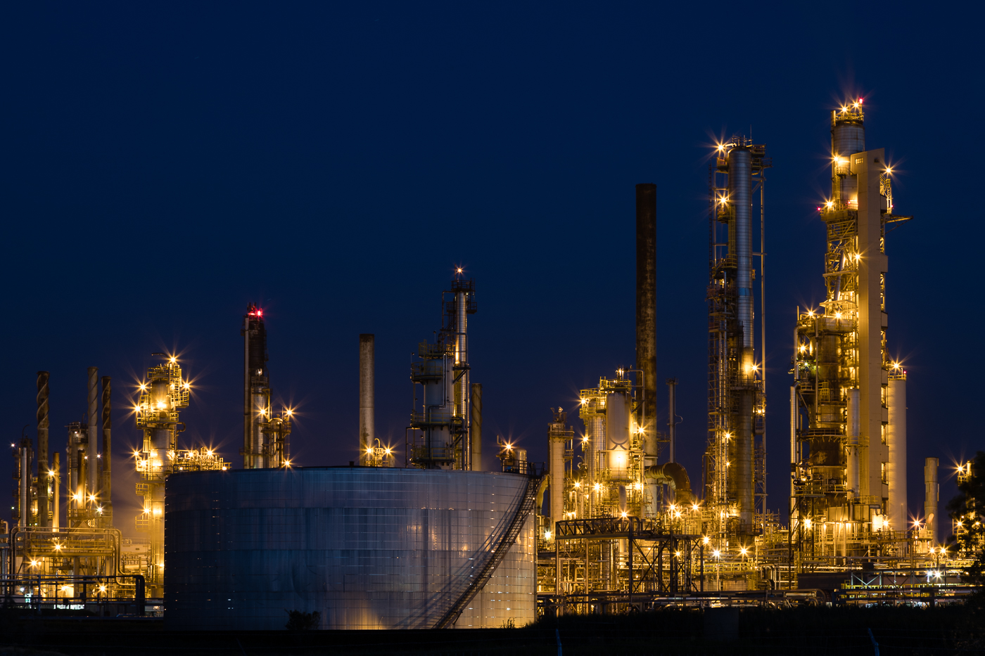 Chemical Valley at Twilight