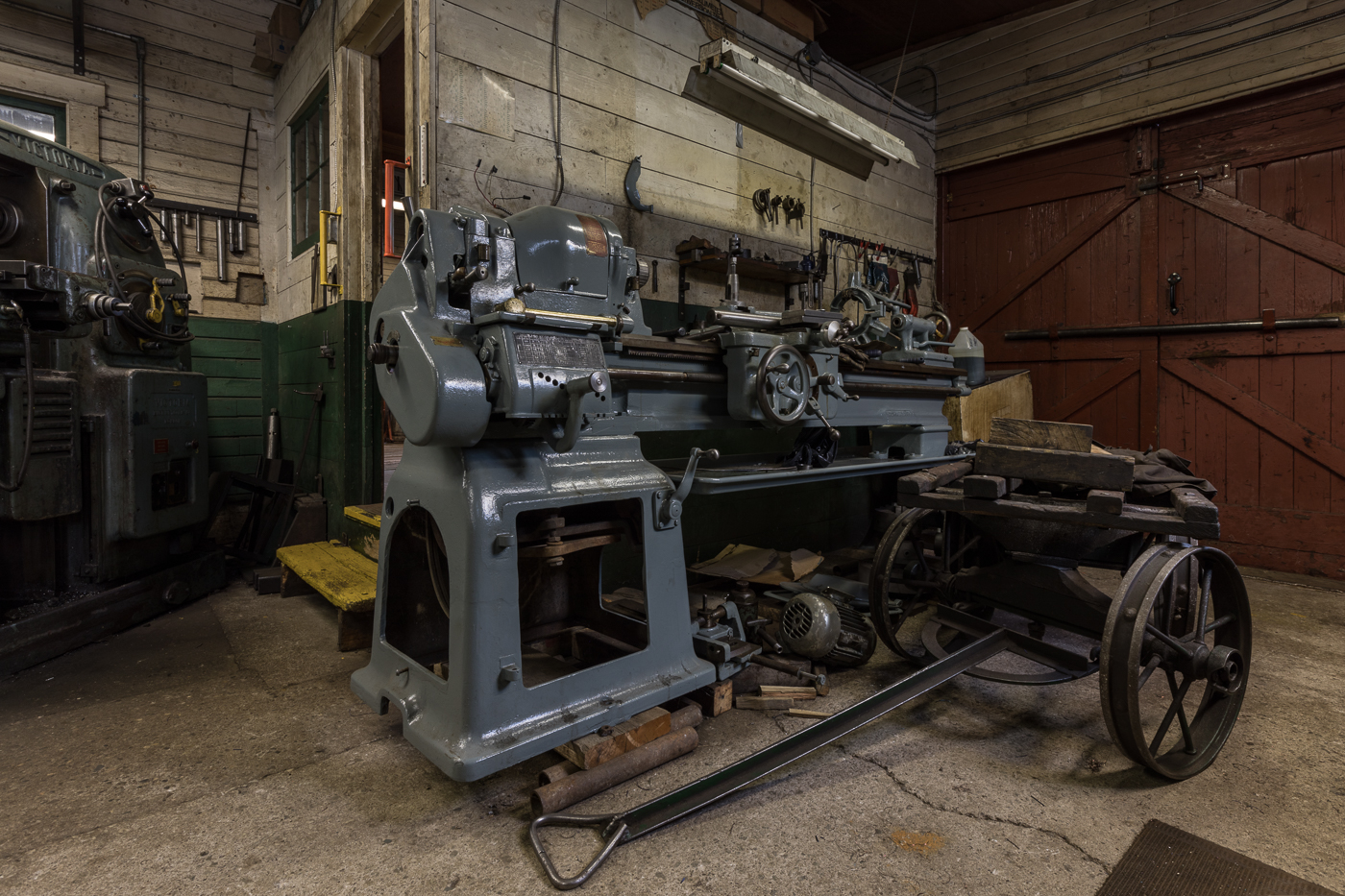 Lathe and Cart