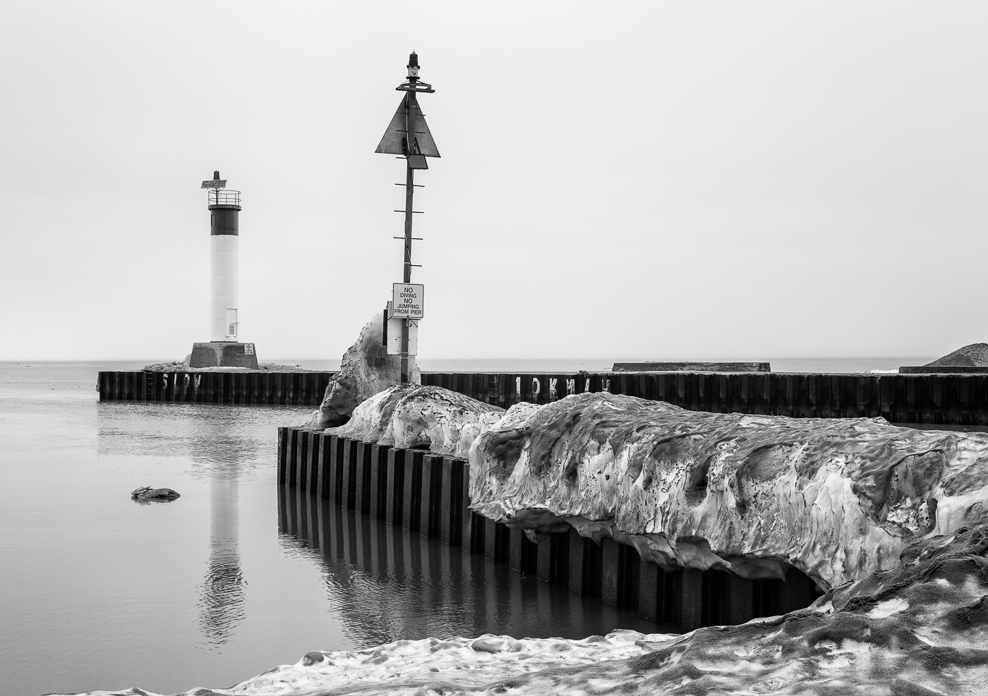 January Thaw at Grand Bend
