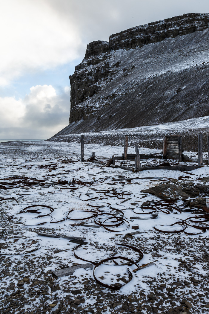 Remains of Outpost on Beechey Island
