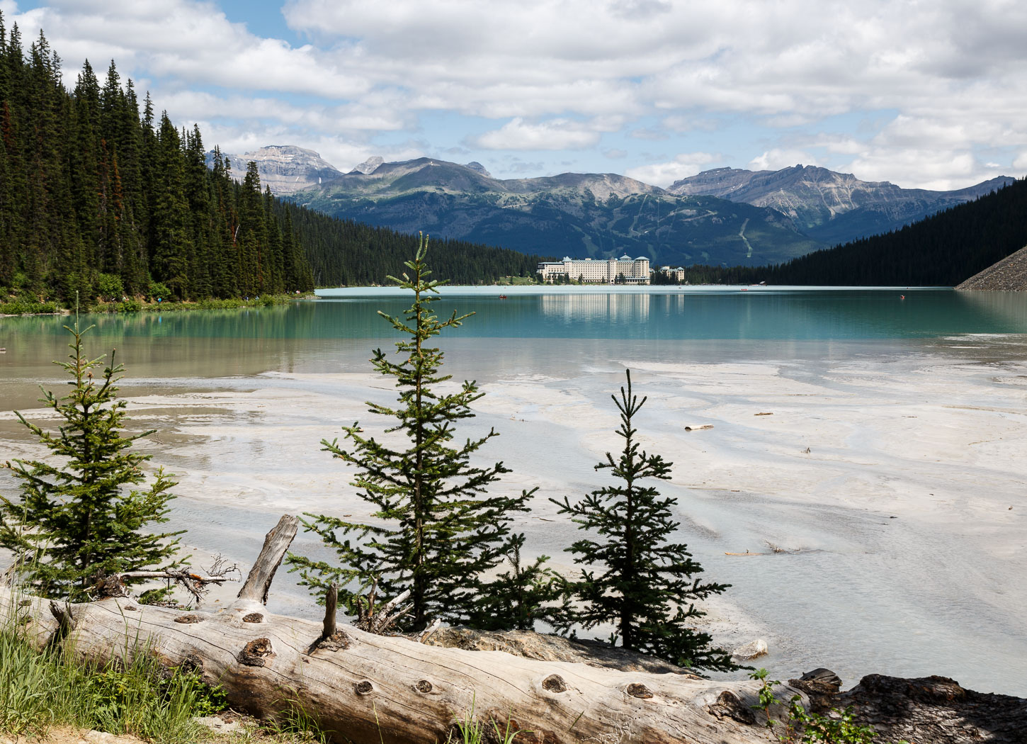 Lake Louise and the Chateau
