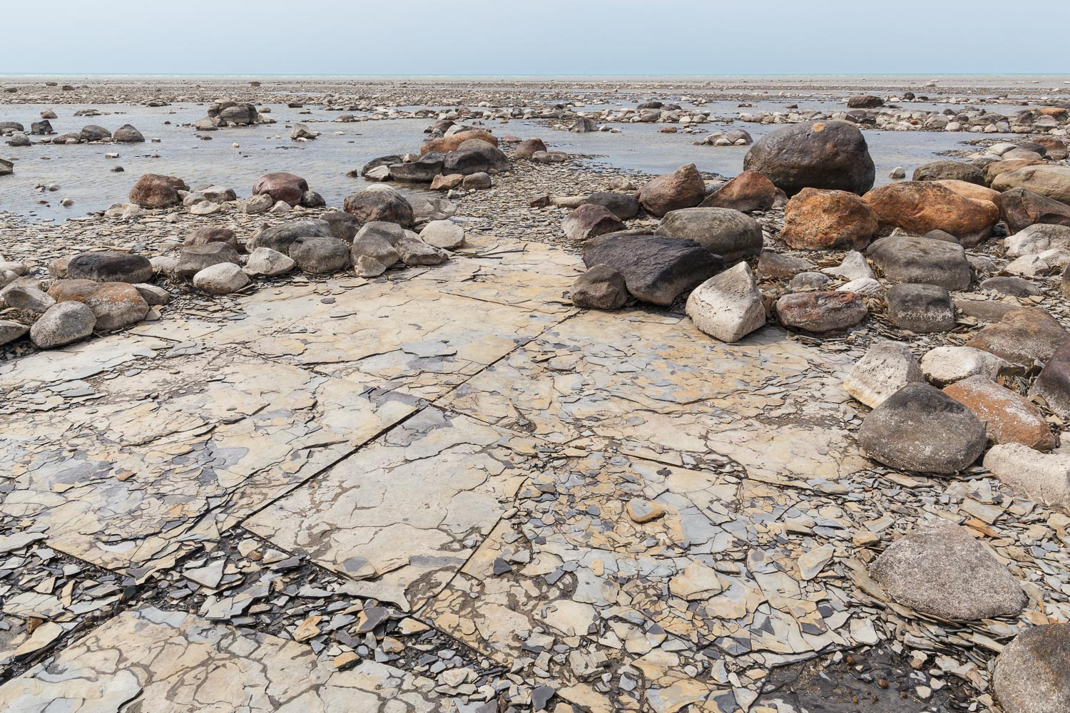 Shale Lakebed, Kettle Point