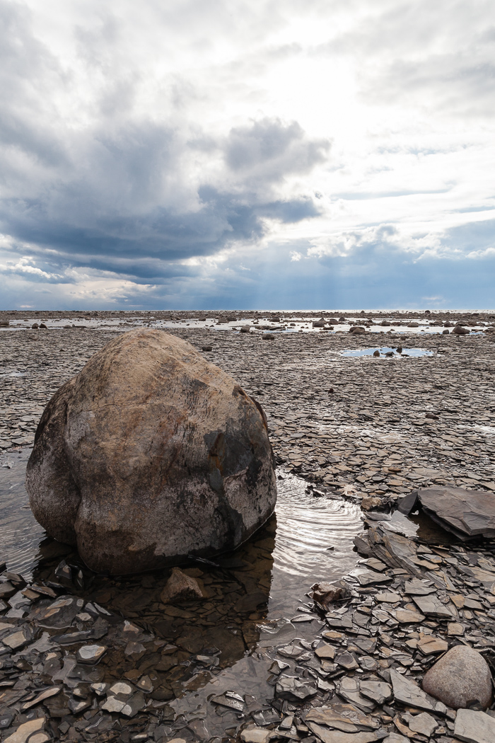 Lakebed and Large Concretion, Kettle Point