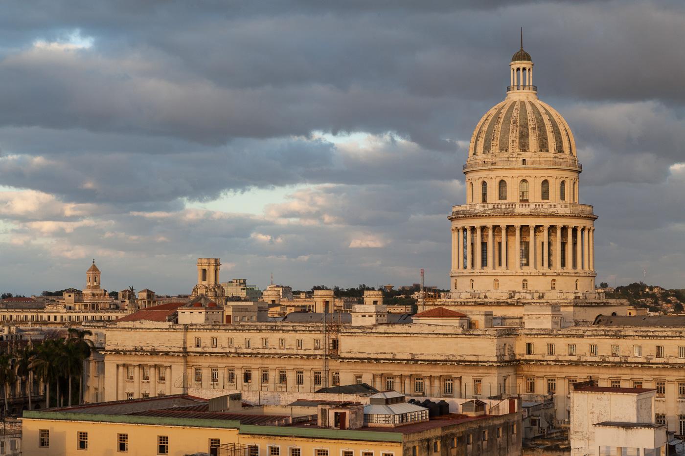 National Capitol Building at Dusk