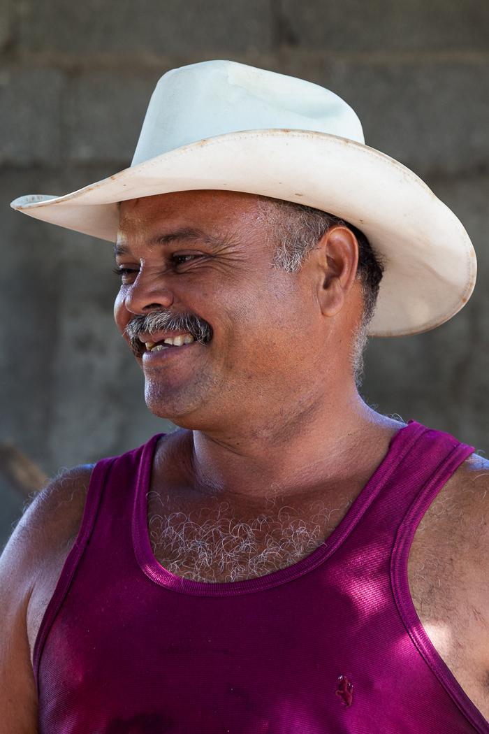 Farm Worker in Central Cuba