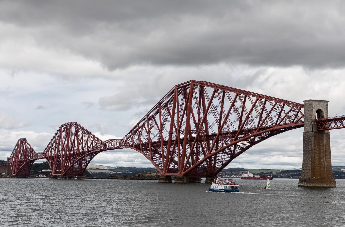 Cantilevered Railway Bridge