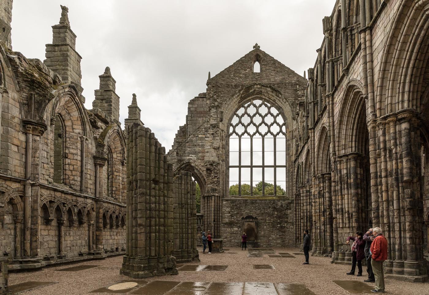 Ruins of Hollyrood Abbey, Edinburgh