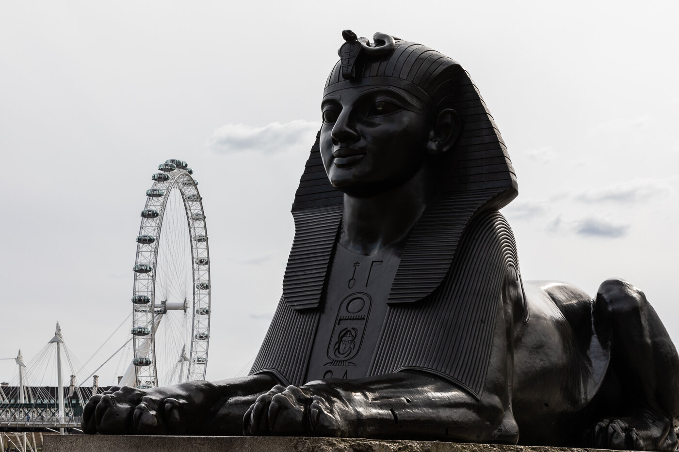 The London Eye and the Sphinx