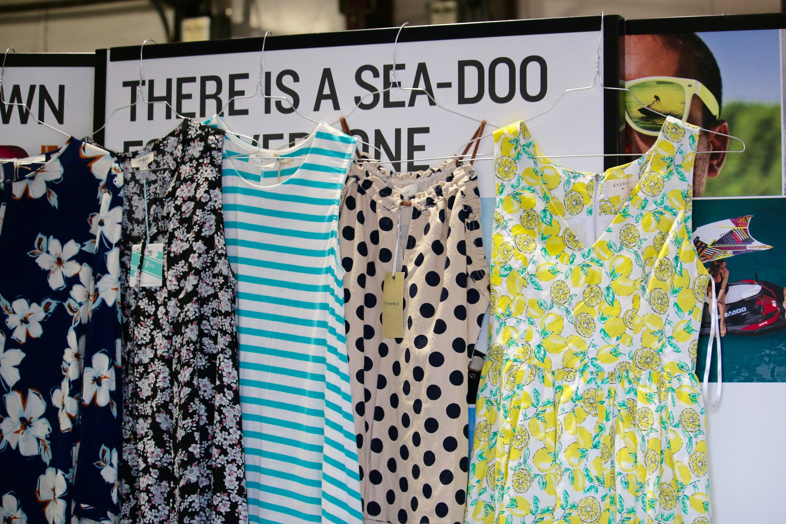Dresses from the Itty Bitty Fashion Truck