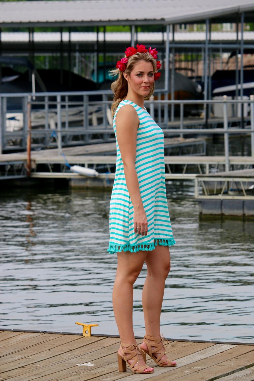 Hanging out on the docks at Lake Springfield Marina