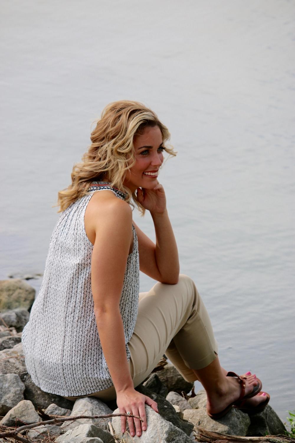Allie at Lake Springfield Marina