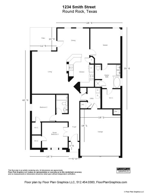 Tax Protest Package — FLOOR PLAN GRAPHICS