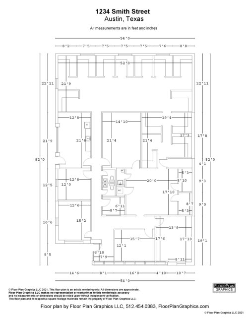 Commercial Marketing Package Office And Retail Floor Plan Graphics