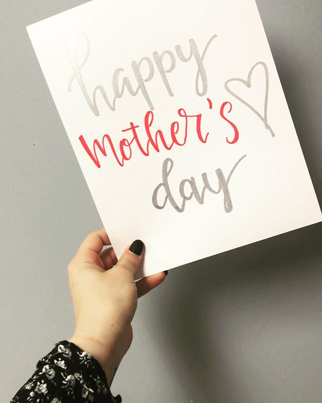 Happy Mother's Day!  Comment below and tell us one way you appreciate your mother or a mother figure in your life. 💕