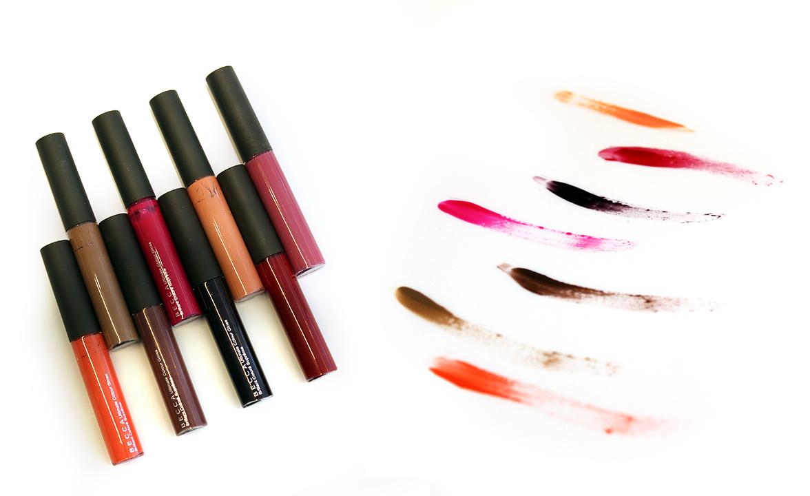 Becca Cosmetics Ultimate Color lip glosses