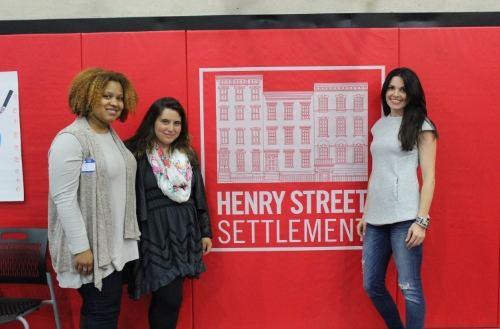 Founder Shana Freeman with Elena Karnaby, and Volunteer