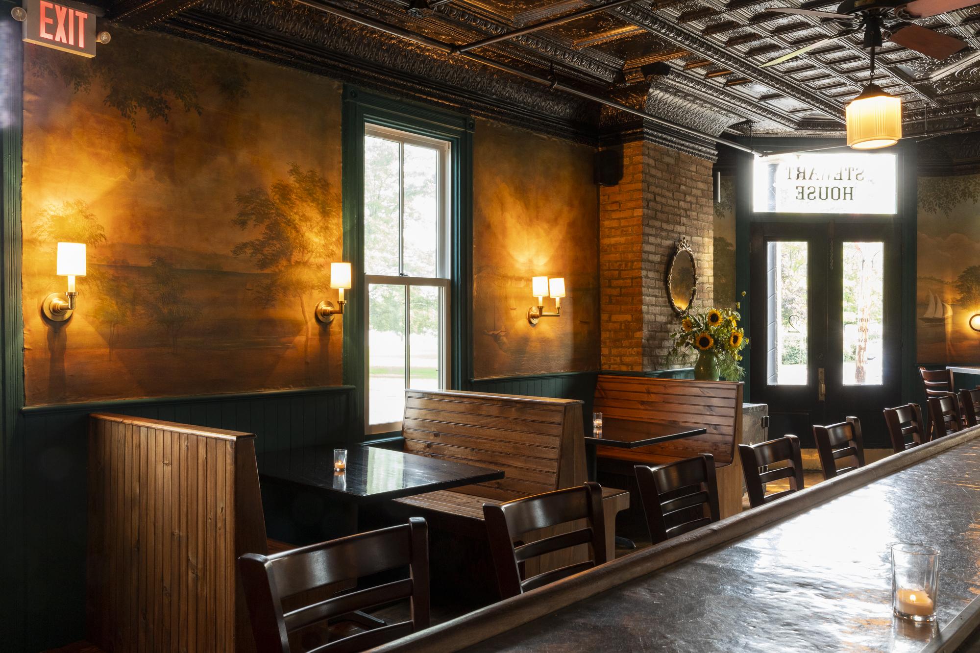 ca.1883 Tavern Craft Cocktail Bar room seating