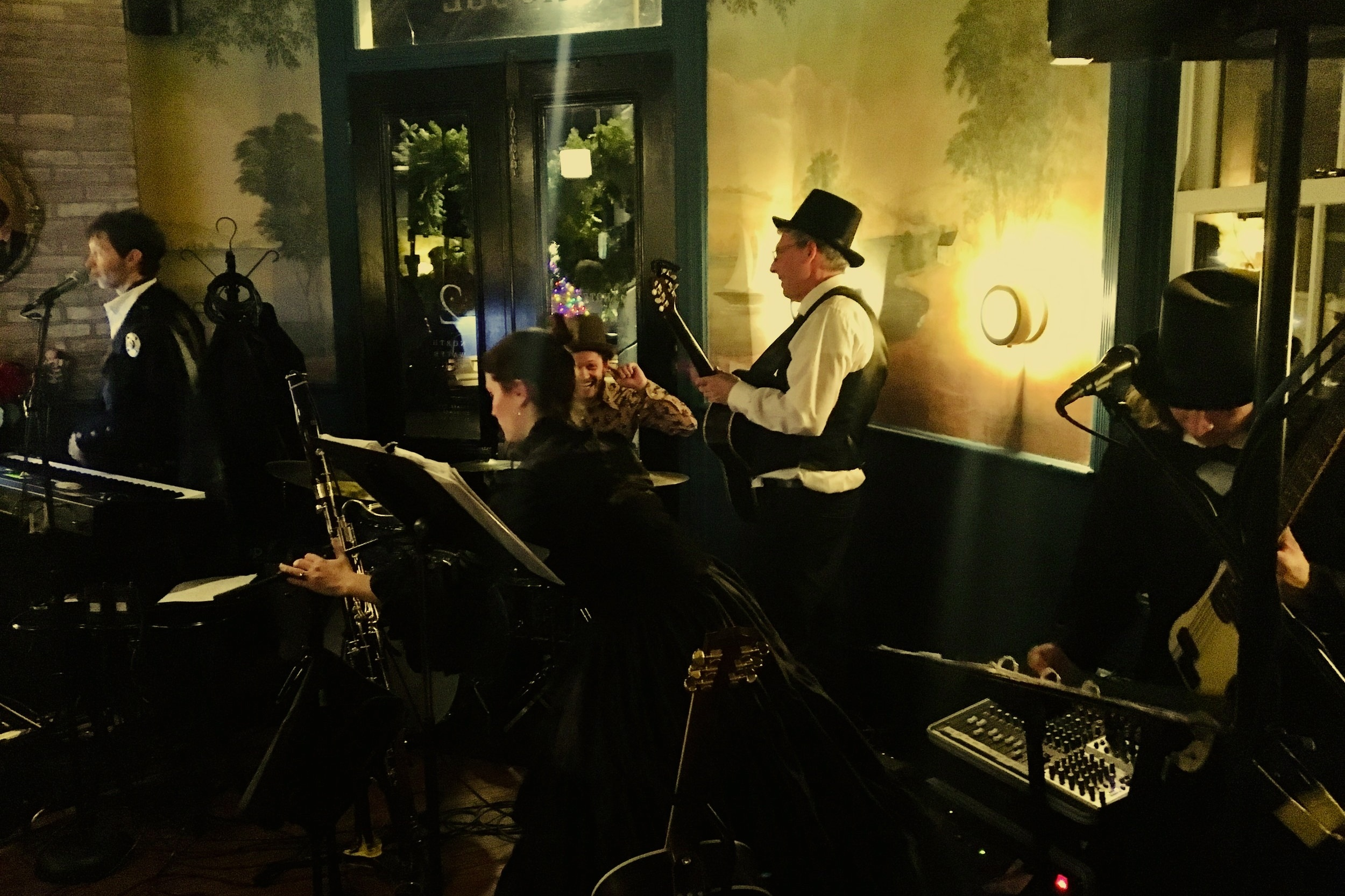 Events - Check out our weekly Thursday Night Live music series which includes Open Mic the first Thursday of every month.Book your own special event in either our private dining room or ca 1883 Tavern.