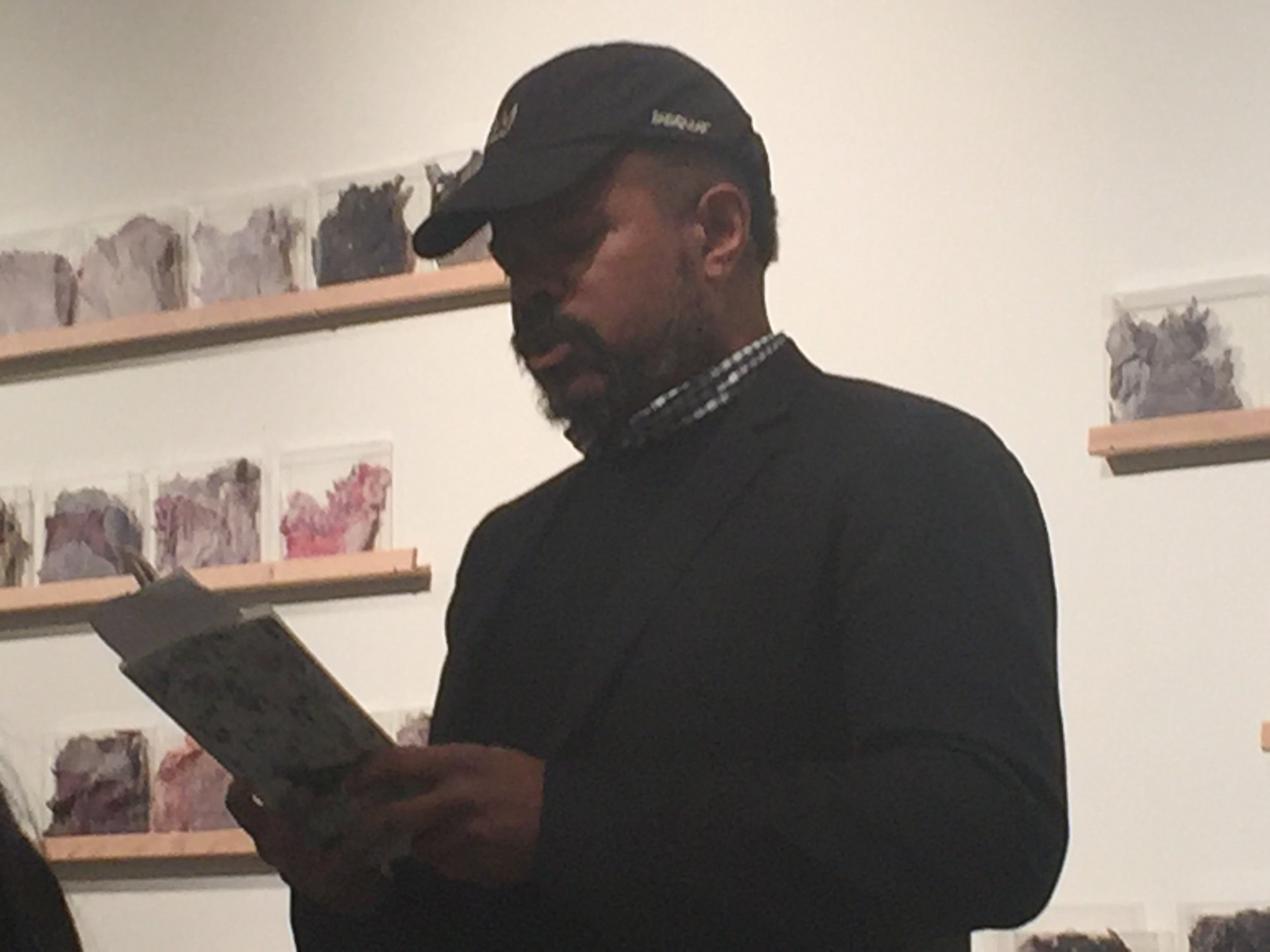 """John Keene reads from his new translation of Hilda Hilst's *Letters from a Seducer"""""""