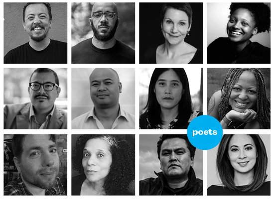 Excited to rock the 1s & 2s of poems this summer. Come on the ride with me this June — and with this amazing group of Poets all year!