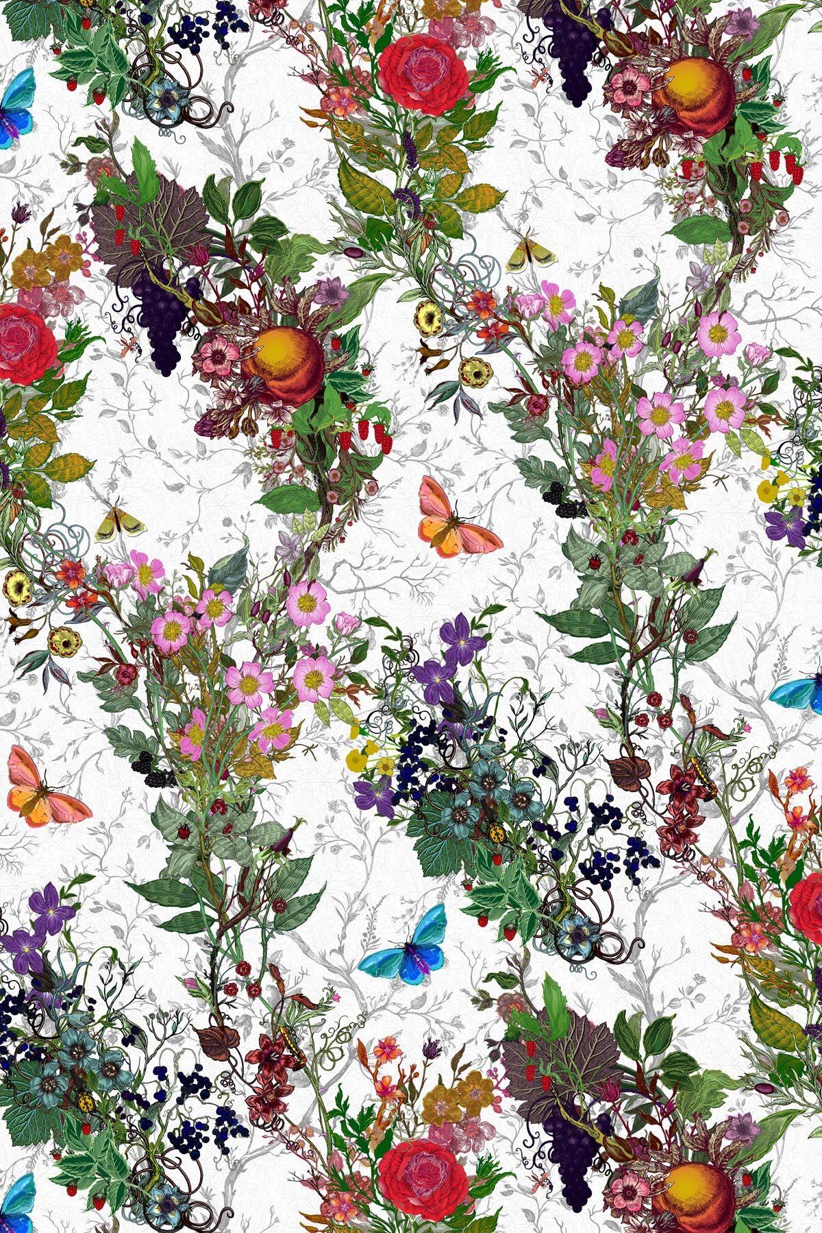 Bloomsbury Garden Wallpaper (Timorous Beasties)