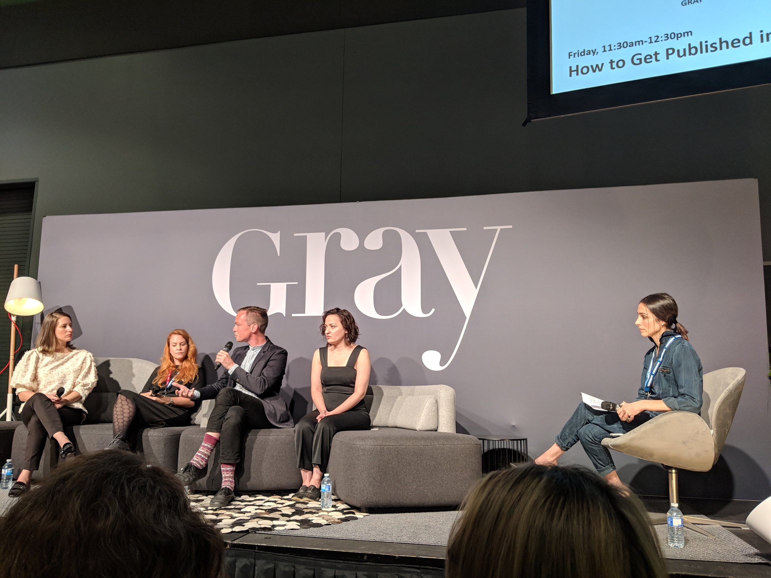 How to Get Published in 2018 on the Gray stage