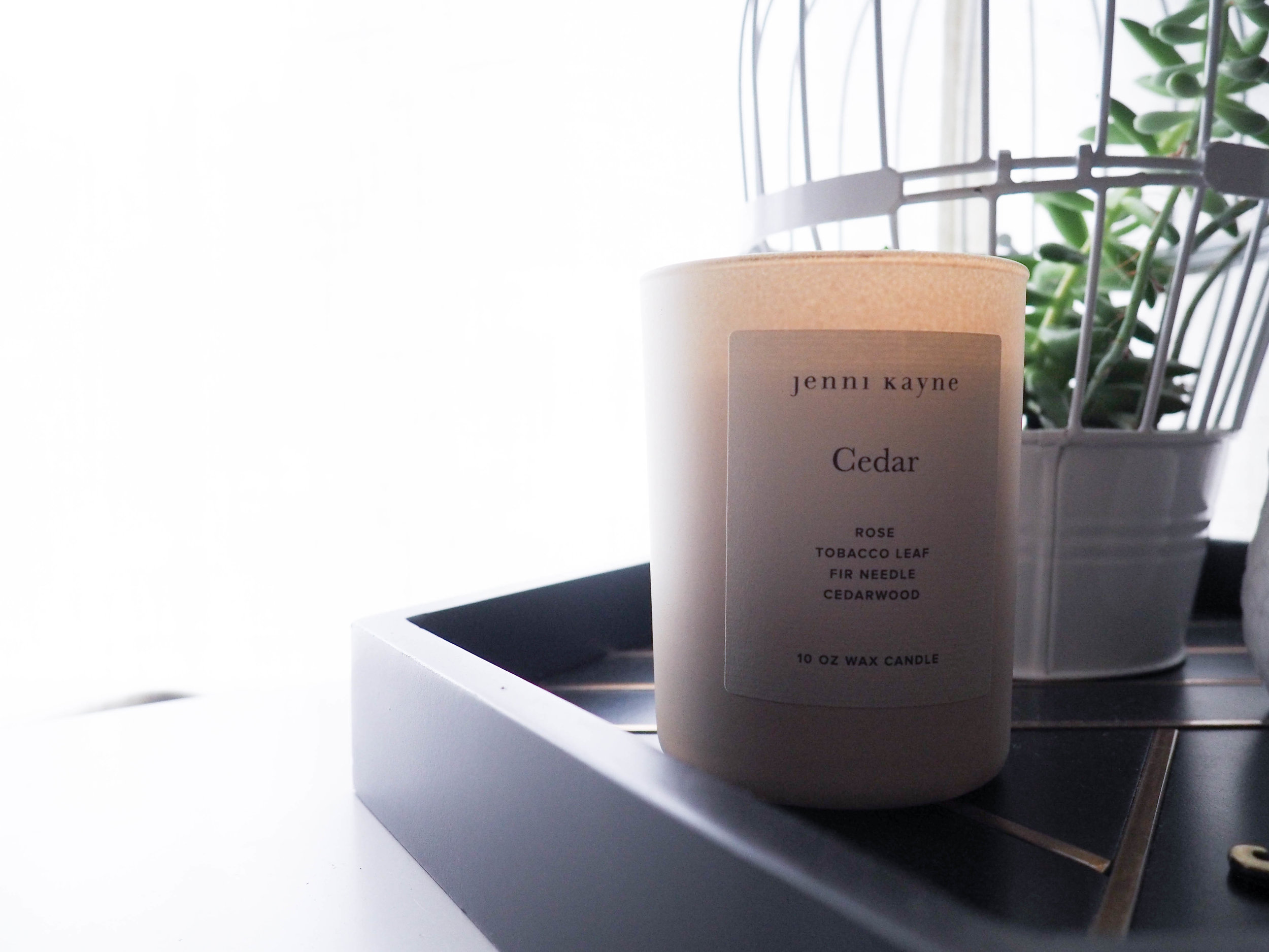 My current scent-obsession — Cedar by Jenni Kayne.