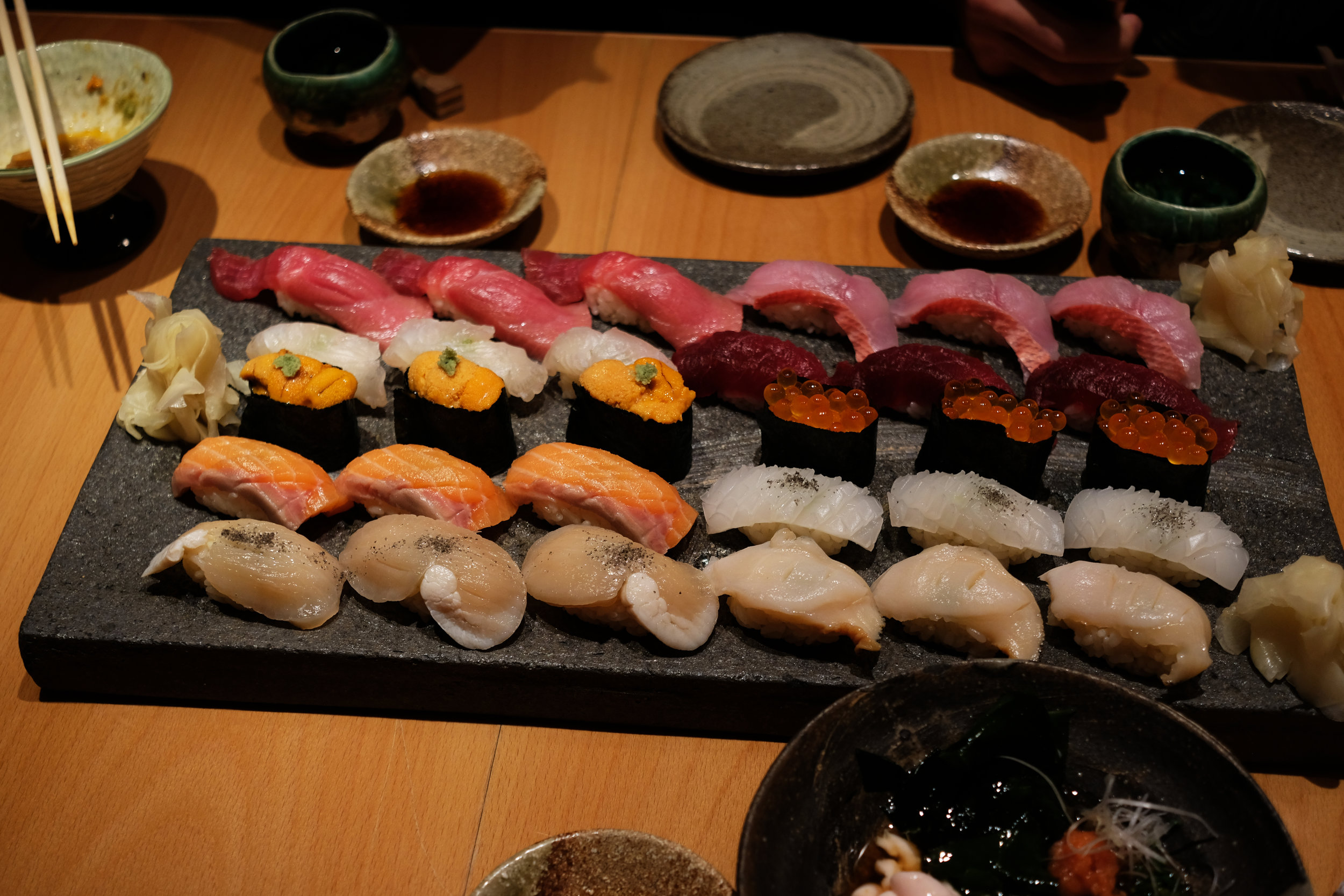 Sushi, 2018