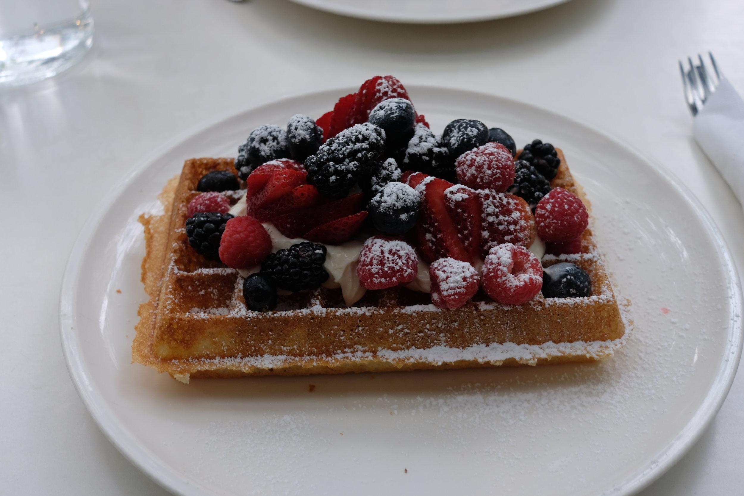 Berry Mascarpone Waffle, 2019