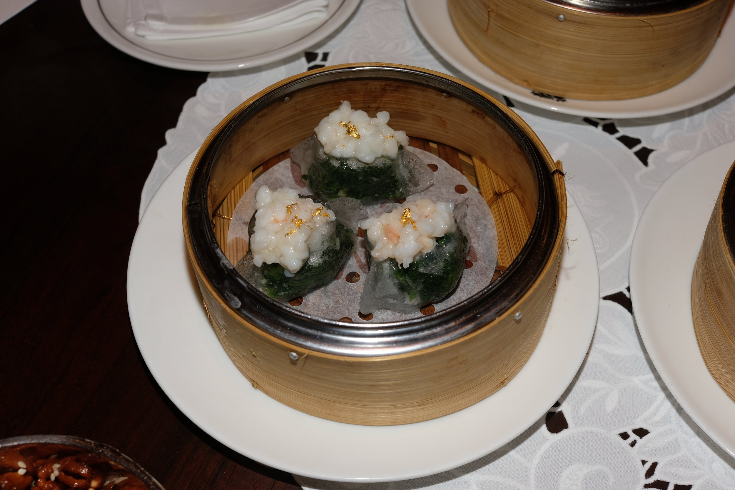 龍蝦菠菜餃, 2019