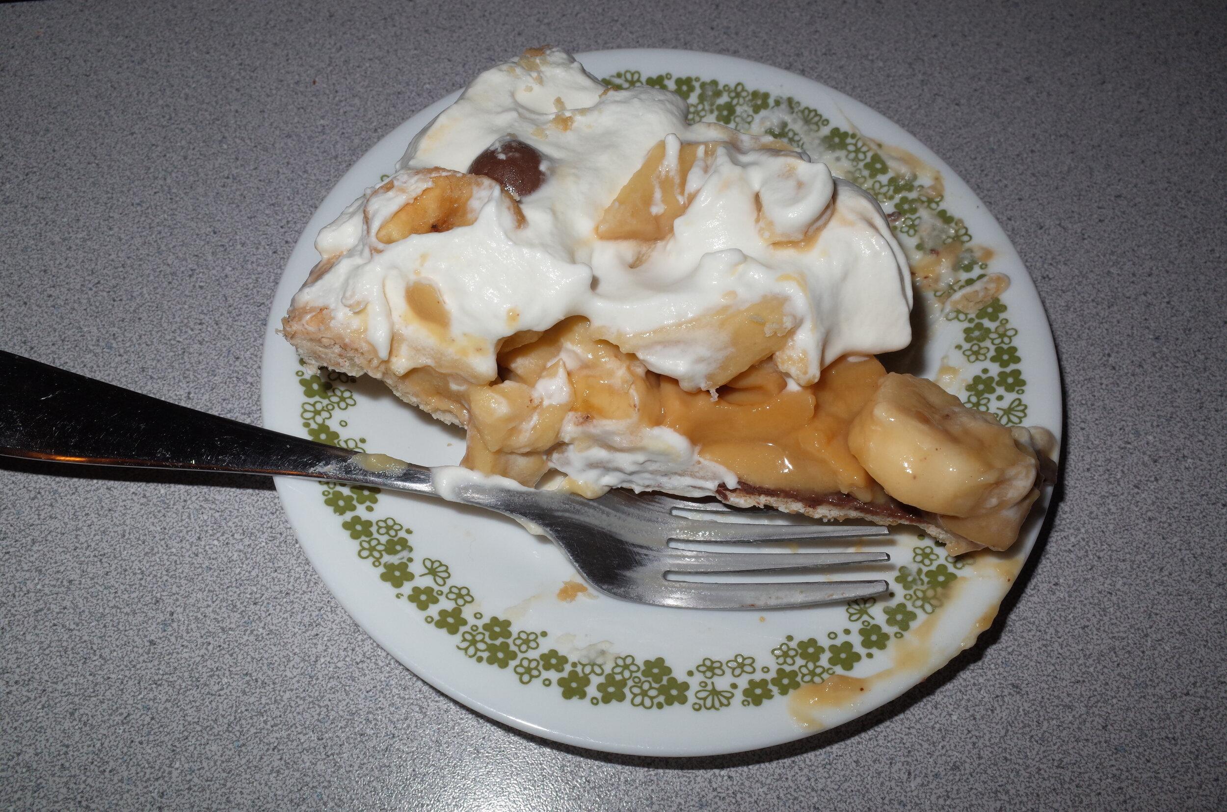 Caramel Banana Cream Pie, 2019