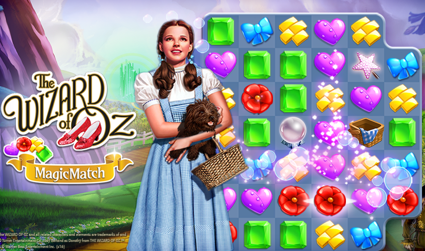 Wizard of Oz Magic Match