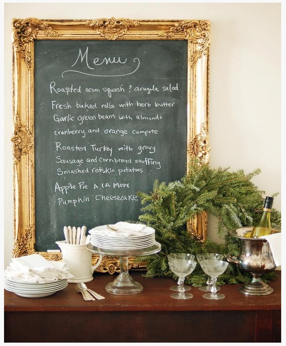 framed chalkboard - screenshot from HGTV .jpg