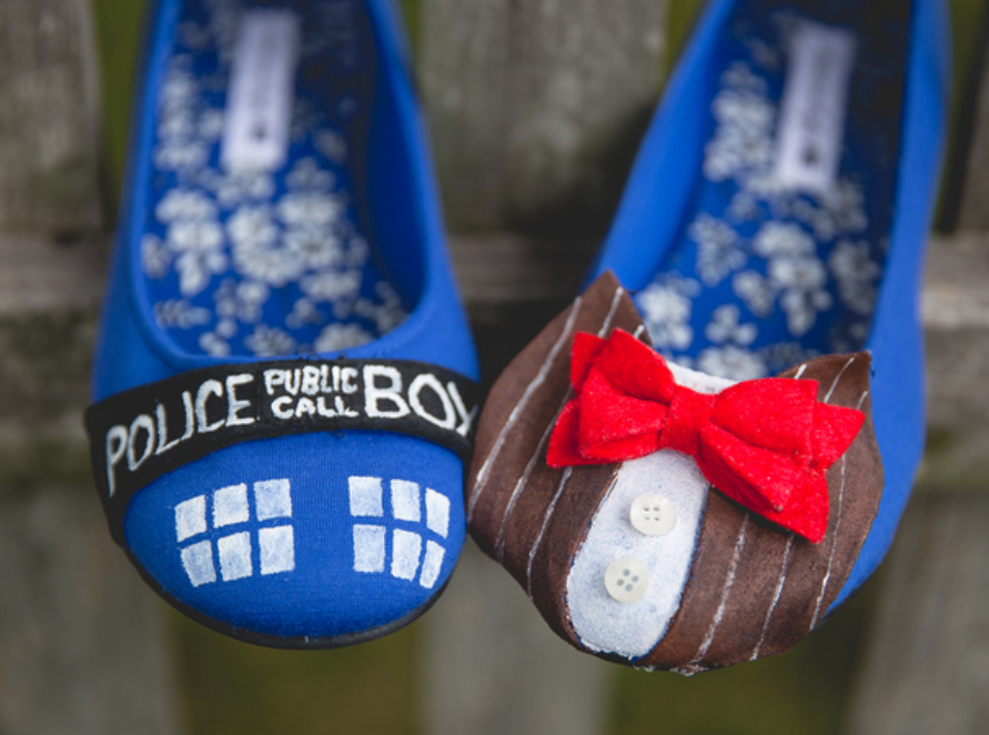 Dr Who Shoes Themed Wedding Illumination Events Studio .png