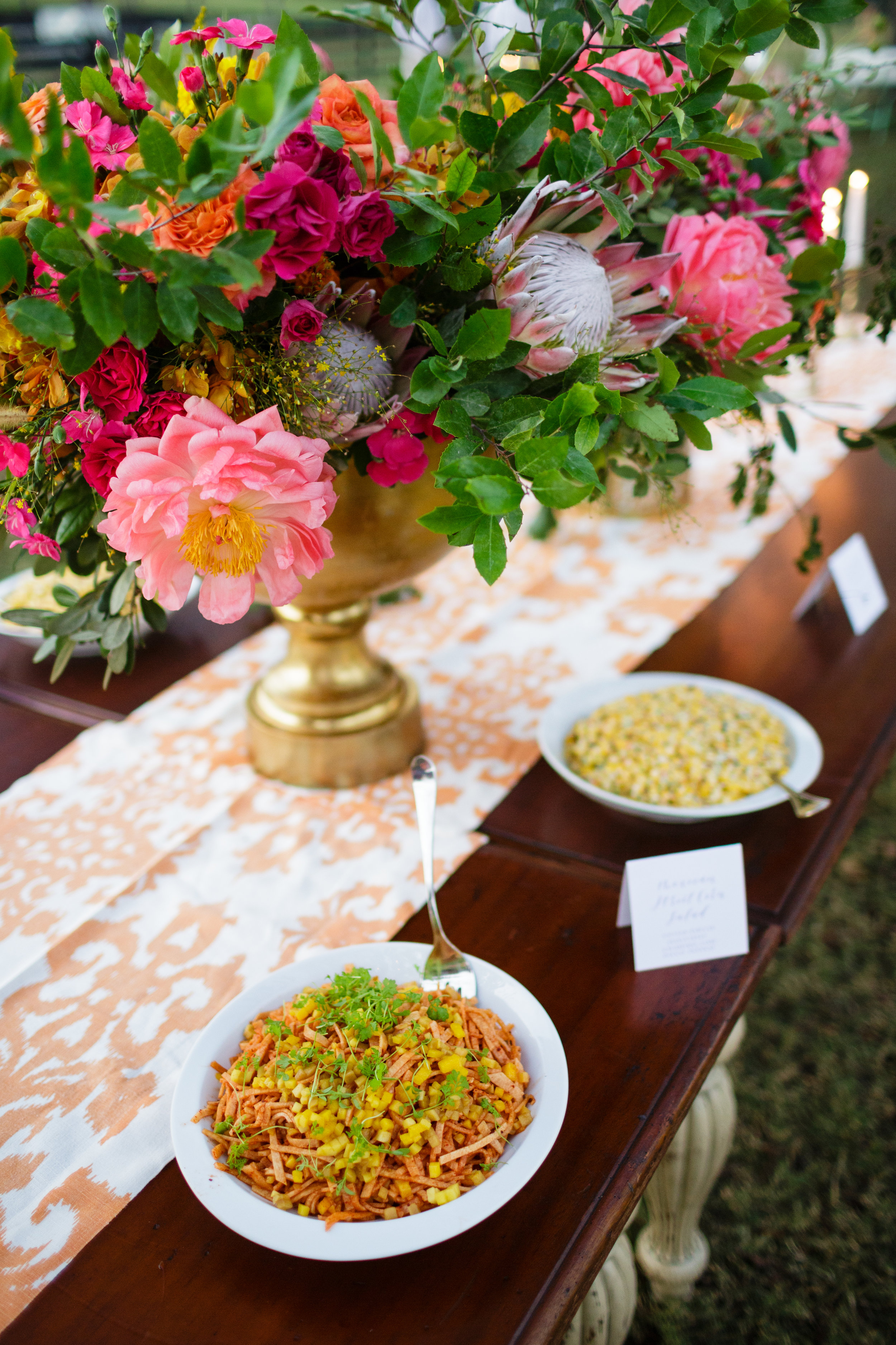 Strawberry Milk Events Colorful Ranch Table Settings Rehearsal Dinner.jpg