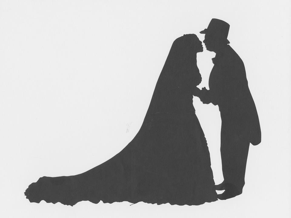 Blane Wells Silhouettes Bride and Groom.jpg