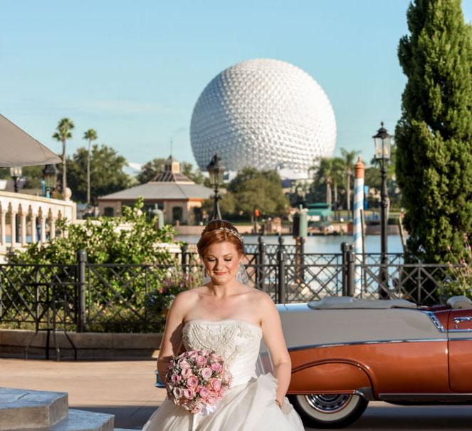 DIsney Epcot Wedding Bride.jpg