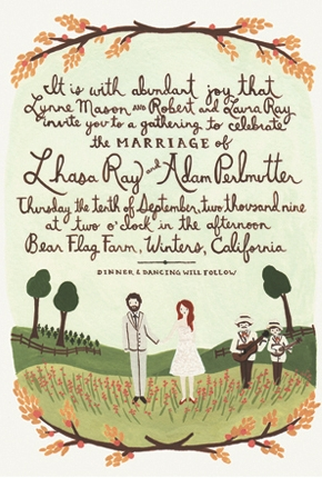 Rifle Paper Co Autumn Wedding Initation.jpg
