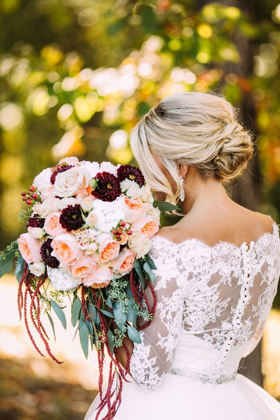 Bride with Fall Bouquet.jpg