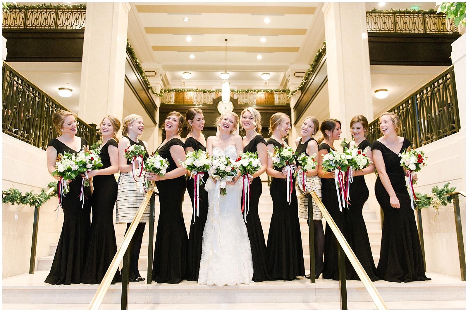 Bridal Party on Steps at John Marshall Ballrooms.jpg