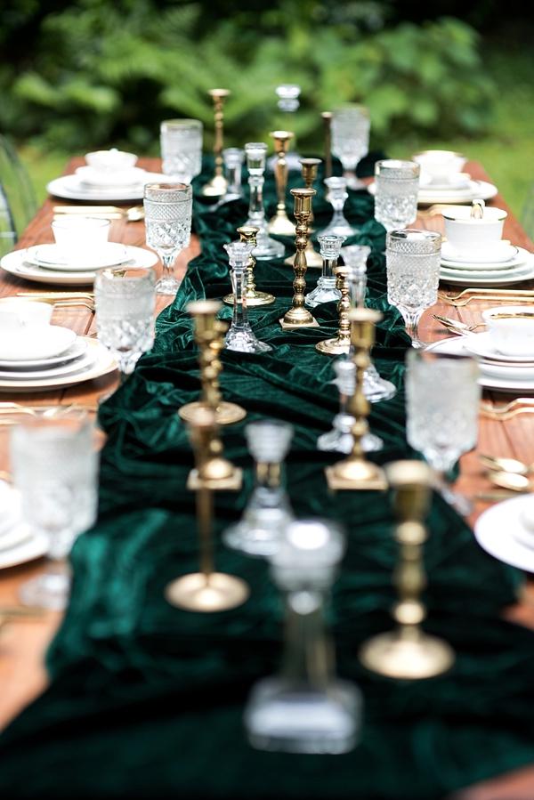 Emerald Green Velvet Table Runner.jpg